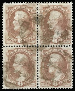 Sale Number 922, Lot Number 1083, 1870-88 Issue Multiples6c Dull Pink (159), 6c Dull Pink (159)