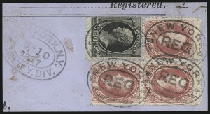 Sale Number 922, Lot Number 1091, 1870-88 Issue Multiples90c Carmine (191), 90c Carmine (191)