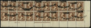 Sale Number 922, Lot Number 1093, 1870-88 Issue Multiples2c Red Brown (210), 2c Red Brown (210)