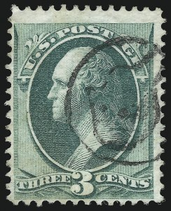 Sale Number 922, Lot Number 1130, Fancy Cancellations3c Green, Grill (136), 3c Green, Grill (136)