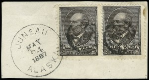 Sale Number 922, Lot Number 1134, Fancy Cancellations5c Yellow Brown (205), 5c Yellow Brown (205)