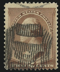 Sale Number 922, Lot Number 1135, Fancy Cancellations2c Red Brown (210), 2c Red Brown (210)