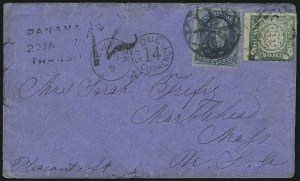Sale Number 922, Lot Number 1268, Central and South American Mails5c Blue (179), 5c Blue (179)