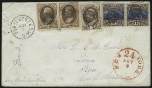 Sale Number 922, Lot Number 1269, Central and South American Mails2c Red Brown, 10c Brown (146, 150), 2c Red Brown, 10c Brown (146, 150)
