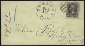 Sale Number 922, Lot Number 1287, British North America and Great Britain Mails12c Dull Violet (151), 12c Dull Violet (151)