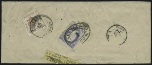 Sale Number 922, Lot Number 1341, Mail to other European Destinations1c Gray Blue (206), 1c Gray Blue (206)