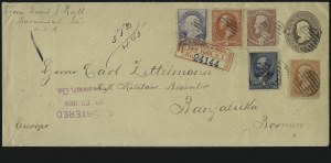 Sale Number 922, Lot Number 1345, Mail to other European Destinations1c-15c 1879-88 Issues (186, 189, 212, 214, 216), 1c-15c 1879-88 Issues (186, 189, 212, 214, 216)