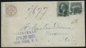Sale Number 922, Lot Number 1357, Mail to other European Destinations3c Green (158), 3c Green (158)