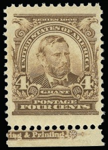 Sale Number 923, Lot Number 2644, 1902-08 Issues (Scott 300 thru 320)4c Brown (303), 4c Brown (303)