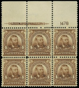 Sale Number 923, Lot Number 2646, 1902-08 Issues (Scott 300 thru 320)4c Brown (303), 4c Brown (303)