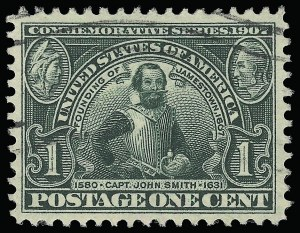 Sale Number 923, Lot Number 2708, Louisiana Purchase, Jamestown Issues1c Jamestown (328), 1c Jamestown (328)