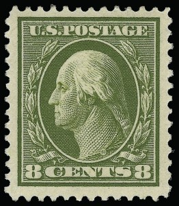 Sale Number 923, Lot Number 2781, 1908-12 Issues (Scott 367 to 396)8c Olive Green (380), 8c Olive Green (380)