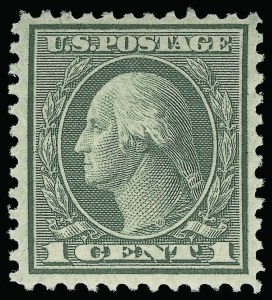Sale Number 923, Lot Number 2975, 1912-23 Issues (Scott 523 to 547)1c Green, Rotary (545), 1c Green, Rotary (545)