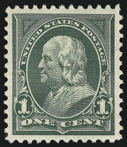 Sale Number 924, Lot Number 107, 1898 Bureau Issue1c Deep Green (279), 1c Deep Green (279)