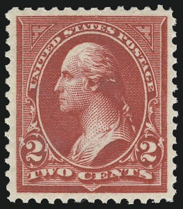 Sale Number 924, Lot Number 108, 1898 Bureau Issue2c Red, Ty. IV (279B), 2c Red, Ty. IV (279B)