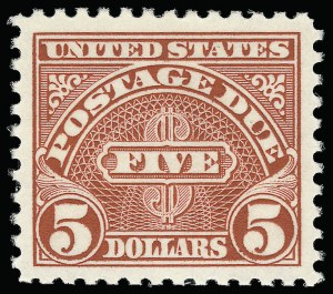 Sale Number 924, Lot Number 221, Later Postage Due Issues$1.00-$5.00 1930 Postage Dues (J77-J78), $1.00-$5.00 1930 Postage Dues (J77-J78)