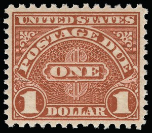Sale Number 924, Lot Number 222, Later Postage Due Issues-1/2c-$1.00 1931-56 Postage Due Issues (J79-J87), -1/2c-$1.00 1931-56 Postage Due Issues (J79-J87)