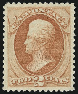 Sale Number 924, Lot Number 34, 1879 American Bank Note Co. Issue2c Vermilion (183). Mint N.H, 2c Vermilion (183). Mint N.H