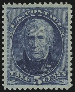 Sale Number 924, Lot Number 36, 1879 American Bank Note Co. Issue5c Blue (185), 5c Blue (185)