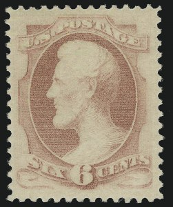 Sale Number 924, Lot Number 37, 1879 American Bank Note Co. Issue6c Pink (186), 6c Pink (186)
