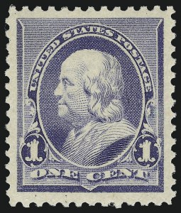 Sale Number 924, Lot Number 58, 1890-93 Issue1c Dull Blue (219), 1c Dull Blue (219)