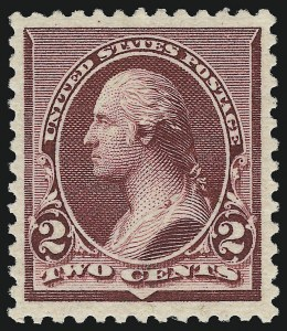 Sale Number 924, Lot Number 59, 1890-93 Issue2c Lake (219D), 2c Lake (219D)