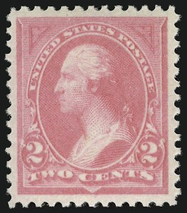 Sale Number 924, Lot Number 74, 1894 Unwatermarked Bureau Issue2c Pink, Ty. I (248), 2c Pink, Ty. I (248)