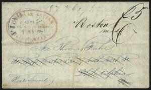 Sale Number 925, Lot Number 1005, American Letter Mail CompanyAmerican Letter Mail Company, Office, No. 16 State Street, Boston, American Letter Mail Company, Office, No. 16 State Street, Boston