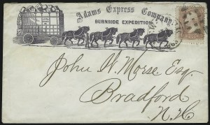 Sale Number 925, Lot Number 1050, Adams & Co.Adams Express Company, Burnside Expedition, Adams Express Company, Burnside Expedition