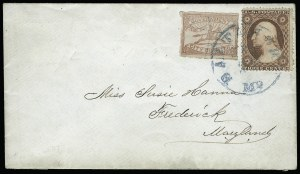 "Sale Number 925, Lot Number 1171, Baltimore, MarylandBaltimore Md., 1c Red, ""SENT"" (1LB9a), Baltimore Md., 1c Red, ""SENT"" (1LB9a)"