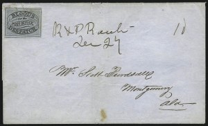 Sale Number 925, Lot Number 1307, D. O. Blood & Co.Blood's City Despatch, Philadelphia Pa., (unstated value) Black & Blue (15L10), Blood's City Despatch, Philadelphia Pa., (unstated value) Black & Blue (15L10)