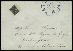 Sale Number 925, Lot Number 1470, CarterG. Carter's Despatch, Philadelphia Pa., 2c Black (36L1), G. Carter's Despatch, Philadelphia Pa., 2c Black (36L1)