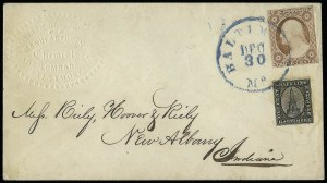 Sale Number 925, Lot Number 1558, GrafflinGrafflin's Baltimore Despatch, Baltimore Md., 1c Black (73L1), Grafflin's Baltimore Despatch, Baltimore Md., 1c Black (73L1)