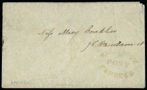 Sale Number 925, Lot Number 1566, GrafflinHandford's Pony Express, Handford's Pony Express