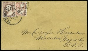 Sale Number 925, Lot Number 1699, SwartsSwarts' City Dispatch Post, New York N.Y., (1c) Pink on Wove (136L10), Swarts' City Dispatch Post, New York N.Y., (1c) Pink on Wove (136L10)