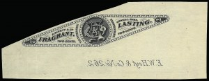 Sale Number 926, Lot Number 577, Private Die Perfumery StampsE. W. Hoyt & Co., 2c Black, Wmk. Paper, Imperforate (RT8d), E. W. Hoyt & Co., 2c Black, Wmk. Paper, Imperforate (RT8d)