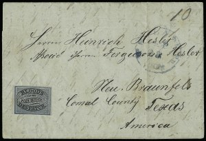 Sale Number 927, Lot Number 1091, Martin Richardson BloodBlood's City Despatch, Philadelphia Pa., (unstated value) Black & Blue (15L10), Blood's City Despatch, Philadelphia Pa., (unstated value) Black & Blue (15L10)