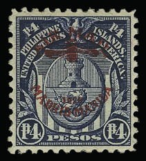 Sale Number 929, Lot Number 627, Hawaii, Philippines, Balances1926, 4p Dark Blue, Air Post (C14), 1926, 4p Dark Blue, Air Post (C14)