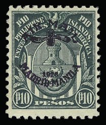 Sale Number 929, Lot Number 628, Hawaii, Philippines, Balances1926, 10p Deep Green, Air Post (C15), 1926, 10p Deep Green, Air Post (C15)