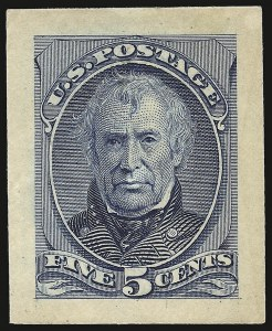 Sale Number 930, Lot Number 1165, Essays, Proofs and Specimens: Bank Note Issues5c Blue, Panama-Pacific Small Die Proof on Wove (185P2a), 5c Blue, Panama-Pacific Small Die Proof on Wove (185P2a)