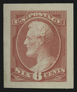 Sale Number 930, Lot Number 1178, Essays, Proofs and Specimens: Bank Note Issues6c Rose, Panama-Pacific Small Die Proof on Wove (208P2a), 6c Rose, Panama-Pacific Small Die Proof on Wove (208P2a)