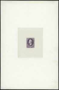 Sale Number 930, Lot Number 1186, Essays, Proofs and Specimens: Bank Note Issues90c Purple, Large Die Proof on India (218P1), 90c Purple, Large Die Proof on India (218P1)
