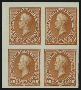 Sale Number 930, Lot Number 1188, Essays, Proofs and Specimens: Bank Note Issues2c-90c 1890-93 Issue, Plate Proofs on India (219DP3, 221P3-227P3, 229P3), 2c-90c 1890-93 Issue, Plate Proofs on India (219DP3, 221P3-227P3, 229P3)