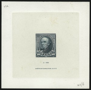 Sale Number 930, Lot Number 1189, Essays, Proofs and Specimens: Bank Note Issues1c-10c 1890-93 Issue, Large Die Proofs on India (219P1, 221P1, 226P1), 1c-10c 1890-93 Issue, Large Die Proofs on India (219P1, 221P1, 226P1)