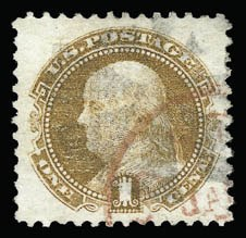Sale Number 930, Lot Number 1864, 1869 Pictorial Issue (Scott 112-122)1c Buff (112), 1c Buff (112)