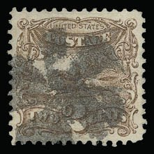 Sale Number 930, Lot Number 1872, 1869 Pictorial Issue (Scott 112-122)2c Brown (113), 2c Brown (113)