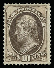 Sale Number 930, Lot Number 2006, 1870-71 National Bank Note Co. Ungrilled Issue (Scott 145-155)10c Brown (150), 10c Brown (150)