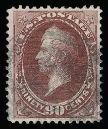Sale Number 930, Lot Number 2022, 1870-71 National Bank Note Co. Ungrilled Issue (Scott 145-155)90c Carmine (155), 90c Carmine (155)