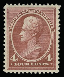 Sale Number 930, Lot Number 2100, 1887 American Bank Note Co. Issue (Scott 212-218)4c Carmine (215), 4c Carmine (215)
