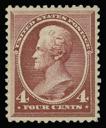 Sale Number 930, Lot Number 2101, 1887 American Bank Note Co. Issue (Scott 212-218)4c Carmine (215), 4c Carmine (215)